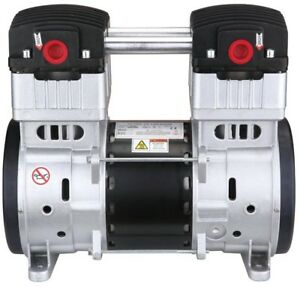 Air Compressor Motor 2 0 Hp Ultra Quiet Oil free Pump Thermal Overload Protector