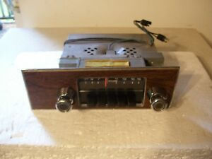 72 1972 Mercury Radio And Face Plate Montego Good Working Warranty