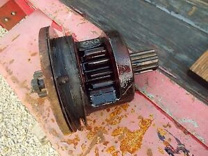 Farmall C Tractor Ih Ihc Transmission Drive Axle Inner Brake Gear Assembly