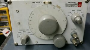General Radio 1309 Oscillator 10hz 100khz