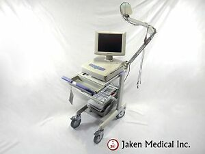 Reconditioned Nihon Kohden 1550a Cardiofax V Ekg System With Stress
