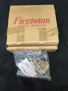 Huge 500 Piece Lot Firstohm 2w Watt Carbon Film Resistor 5 1k R 200 First Ohm