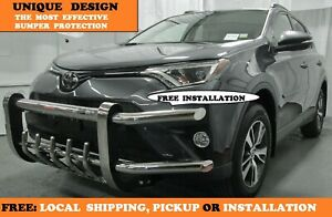 2013 2018 Toyota Rav4 unique And Fully Front Bumper Guard Protector S s Tubing
