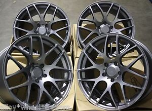 18 Gm Ms007 Alloy Wheels Tyres Fits Lexus Gs Is Ls Rc Rx Models Mazda 5 6