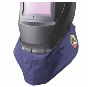 Black Stallion Ah2140 ns Fr Welding Wraparound Helmet Bib Ah2140 Revco Neck