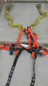 Pre owned Ao Safewaze Harness Dbi Sala Energy Absorber