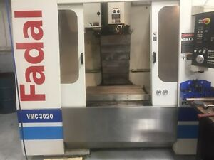 2002 Fadal 3020 Vht Extended Z Axis 24 Smtc 10k Rpm Thru Spindle Coolant