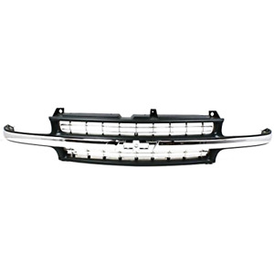 Front Grill Grille For Chevrolet Suburban Tahoe 2000 2001 2002 2003 2004 2005