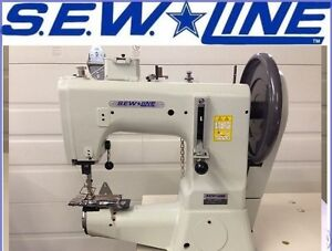 Sewline Sl 441s New Extra Heavy Duty Walking Foot Industrial Sewing Machine