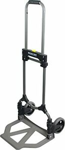 Hand Cart Steel Folding Hand Truck Dolly Dollie Collapsible Foldable Storage New