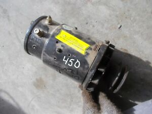 Farmall Ih 450 400 350 300 Mta Tractor Working 12v Generator Belt Drive Pulley