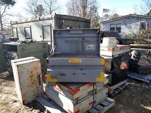 Local Pick Up Only Military Steel Tool Box Local Pick Up Only