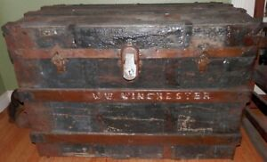 Winchester Mystery House Trunk Sara Winchesters Owned By William Wirt Winchester