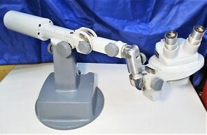 Bausch Lomb Stereo Zoom Microscope 0 7x 3x With Articulated Stand