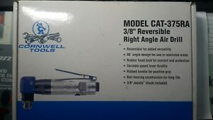 New Cornwell Tools 3 8 Jacobs Chuck Reversible Right Angle Air Drill Pneumatic