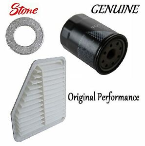 Tune Up Kit Air Oil Filters Plug Gasket Fit Toyota Corolla Xrs 2 4l 2008 2010