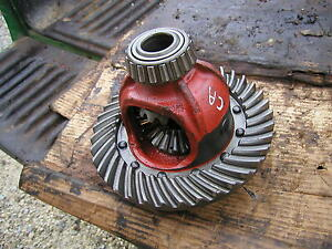 Allis Chalmers Ca Tractor Ac Main Rearend Ring Pinion Drive Gear Assembly