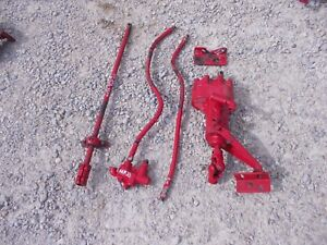 Massey Harris 33 Mh Tractor Behlin Complete Power Steering Assembly