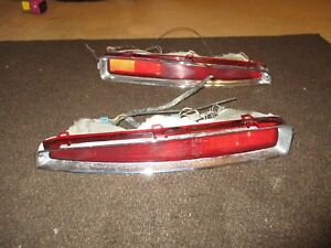 94 99 Tail Lights Cadillac Deville Tail Lights Frenching Into Hotrod Oem Pair Lh