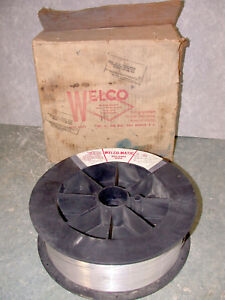 11lb Spool Of Welco matic Aluminum Welding Wire 5356 Alloy 035 Dia