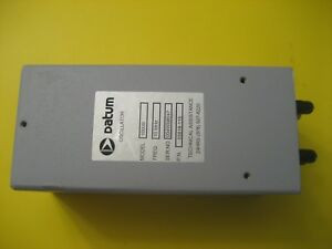 Datum 1000b 10 Mhz P n 05818 115 With 4 Outputs Only One And Us Seller