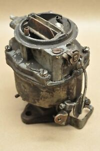 1950 s 1960 s Rochester 1 R1 bv 7003536 c 13 Single 1 Barrel Carburetor Gm Chevy