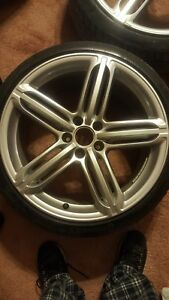 19 Oem Audi Peelers Style Wheels Rims No Tires 5x112 S4 S5 A4 A5 S6 Genuine