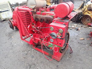 John Deere 4045df270 Power Unit Runs Exc 4045 Diesel Engine 4 5 L Powertech