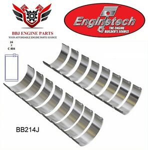 Enginetech Ford 221 255 260 289 302 5 0 Rod Bearings 1962 2001