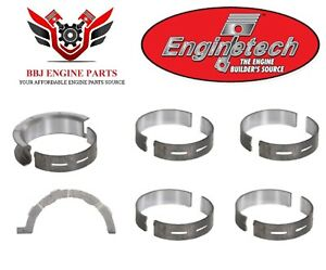 Enginetech Ford 302 5 0 5 0l Coyote Dohc Main Bearings 2011 2016