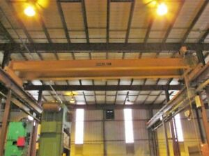 25 Ton X 45 Kone Overhead Bridge Crane Top Riding Double Girder Pendant Control