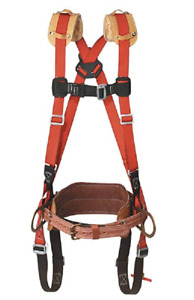Klein Tools Lh5278 21 l Harness W deluxe Full floating Body Belt Large