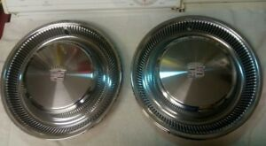1979 80 Cadillac Hub Caps 15 Set Of 4 Wheel Covers Hubcaps