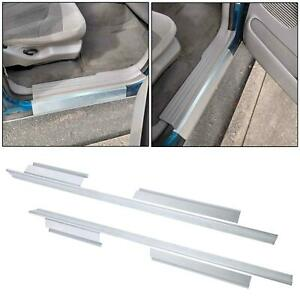 For 01 03 Ford F 150 Pickup Crew Cab Outer Slip on Rocker Panel Pair Us Shipping