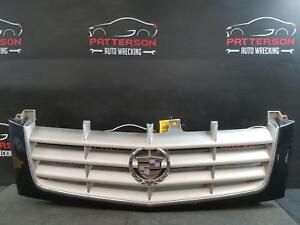 2002 Cadillac Escalade Grill Grille Sable Black Paint Code 41u