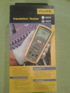 Fluke 1507 Digital Multimeter Insulation Resistance Tester Kit Brand New Sealed