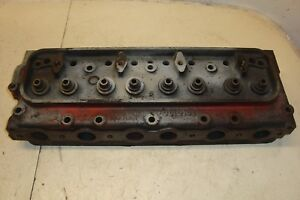 Ford 800 Tractor Gas Cylinder Head