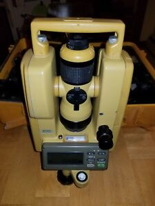 Topcon Dt 104 Digital Theodolite transit Level free Shipping