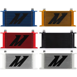 Mishimoto Mmoc 19rd Universal 19 Row Oil Cooler Red
