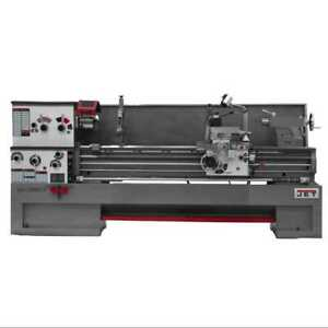 Jet 321980 10hp 3ph 230v Large Spindle Bore Lathe W 22 Swing 80 Centers