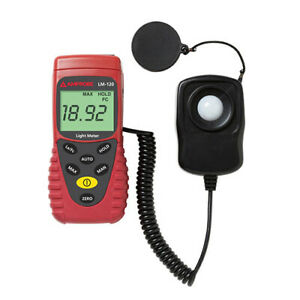 Amprobe Lm120 Digital Light Meter With Auto Ranging