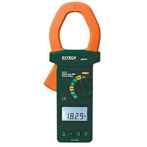Extech 382075 Clamp Meter Power 3 phase Analyzer
