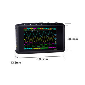 Ds213 Mini Dso 4 Channel Digital 100ms s Oscilloscope Handheld Scope Pocket Size