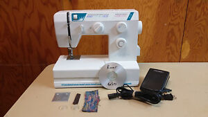 Riccar 650 Sewing Machine Free Arm Leather Upholstery Denim Serviced Nice