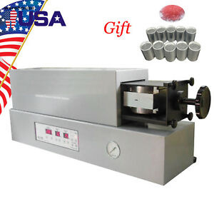 Us Dental Automatic Flexible Partial Denture Injection System Equipment Machine