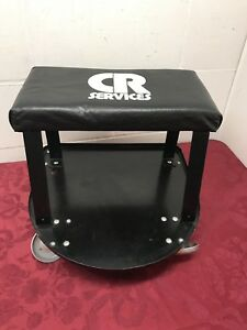 Rolling Mechanic Work Stool Creeper Seat Chair Garage Tool Casters