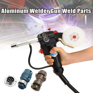 Aluminum Torch Spool Gun Gas Shielded Welding Gun Push Pull With 7 Pin Plug