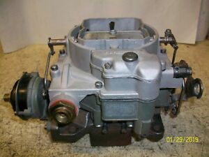 Restored Carter Wcfb Carburetor For 1963 Chevrolet Corvette With 250 Hp 327