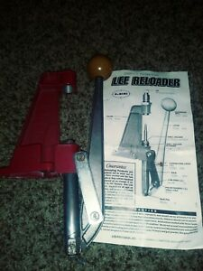 Lee Single Stage Reloader Reloading Press