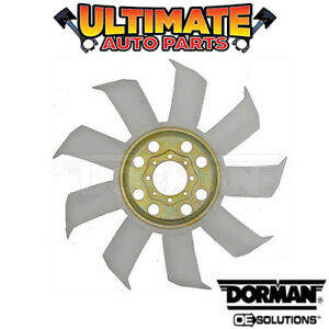 Engine Cooling Fan Blade 5 0l 302 Manual Transmission For 1985 Ford Mustang
